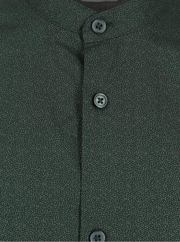 Cămașă verde slim fit Selected Homme Done Cole