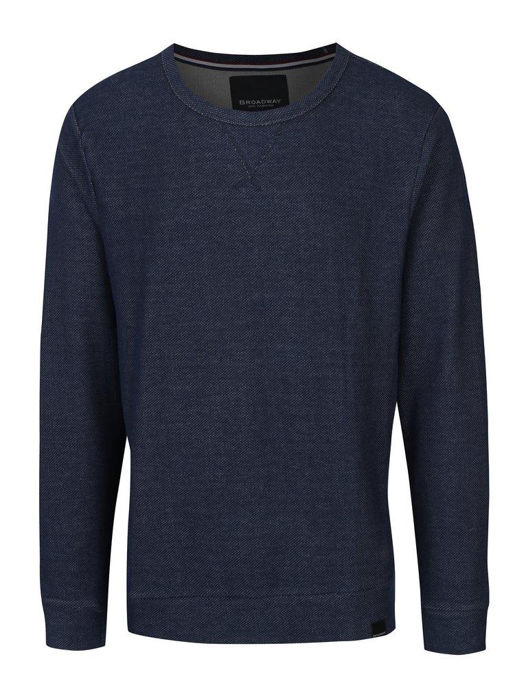 Bluza albastru inchis pentru barbati Broadway Orhan