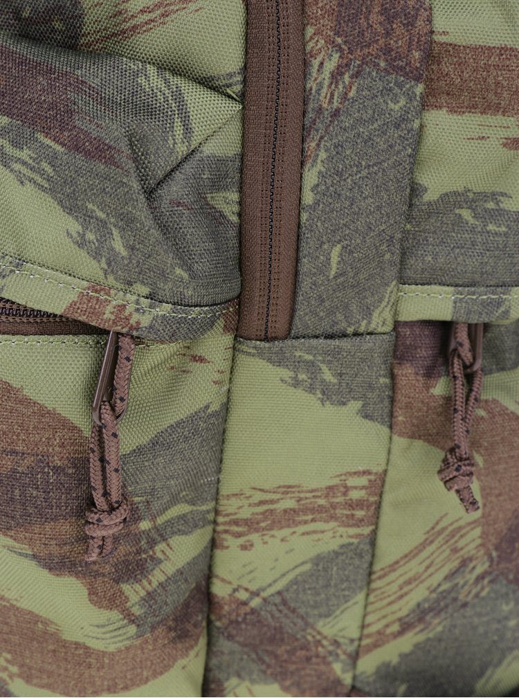 Zelený unisex vzorovaný batoh Burton Kilo Pack 27 l
