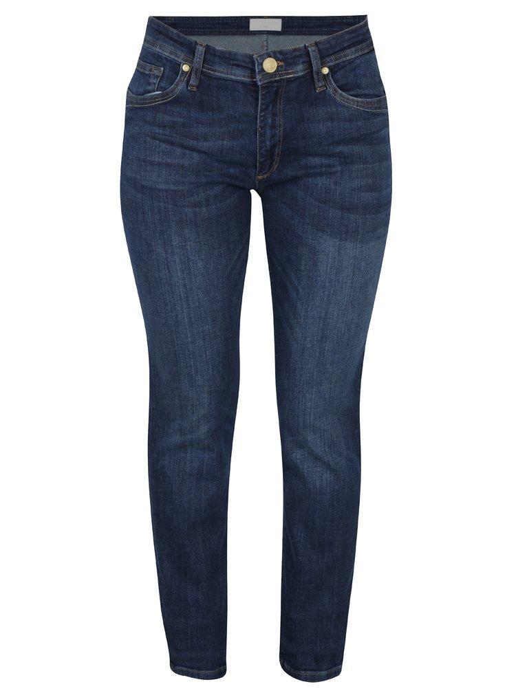 Blugi albaștri cu talie înaltă slim fit Cross Jeans