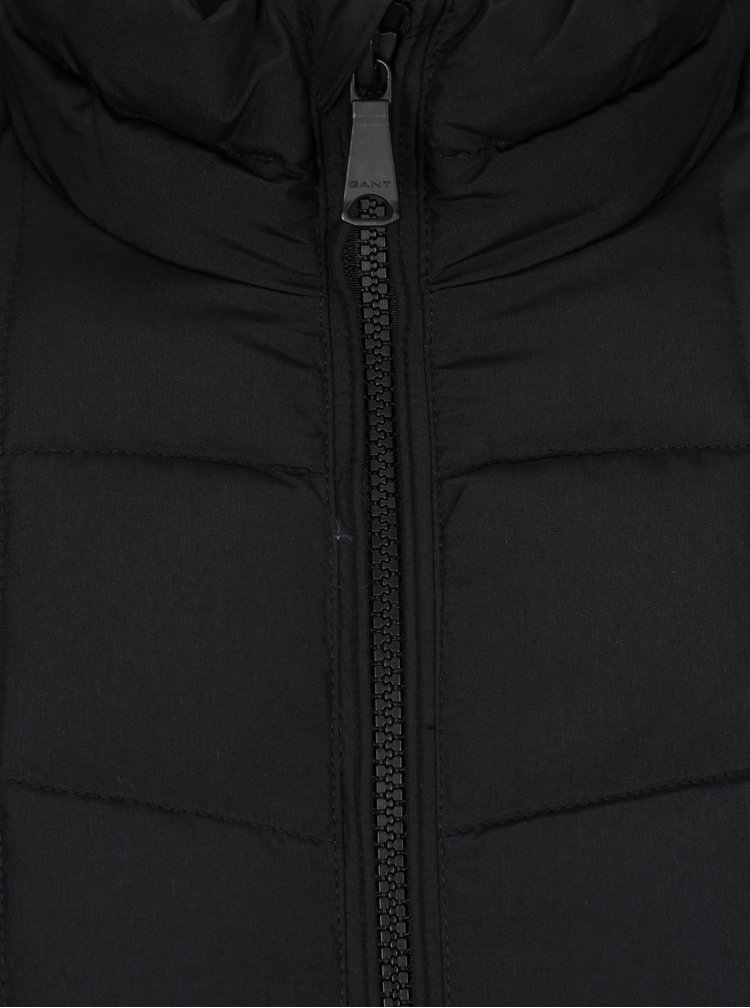 Černá pánská prošívaná bunda GANT