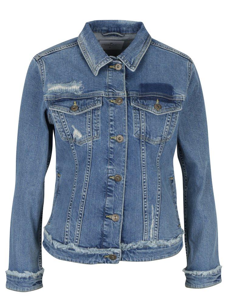Modrá dámská džínová bunda Cross Jeans