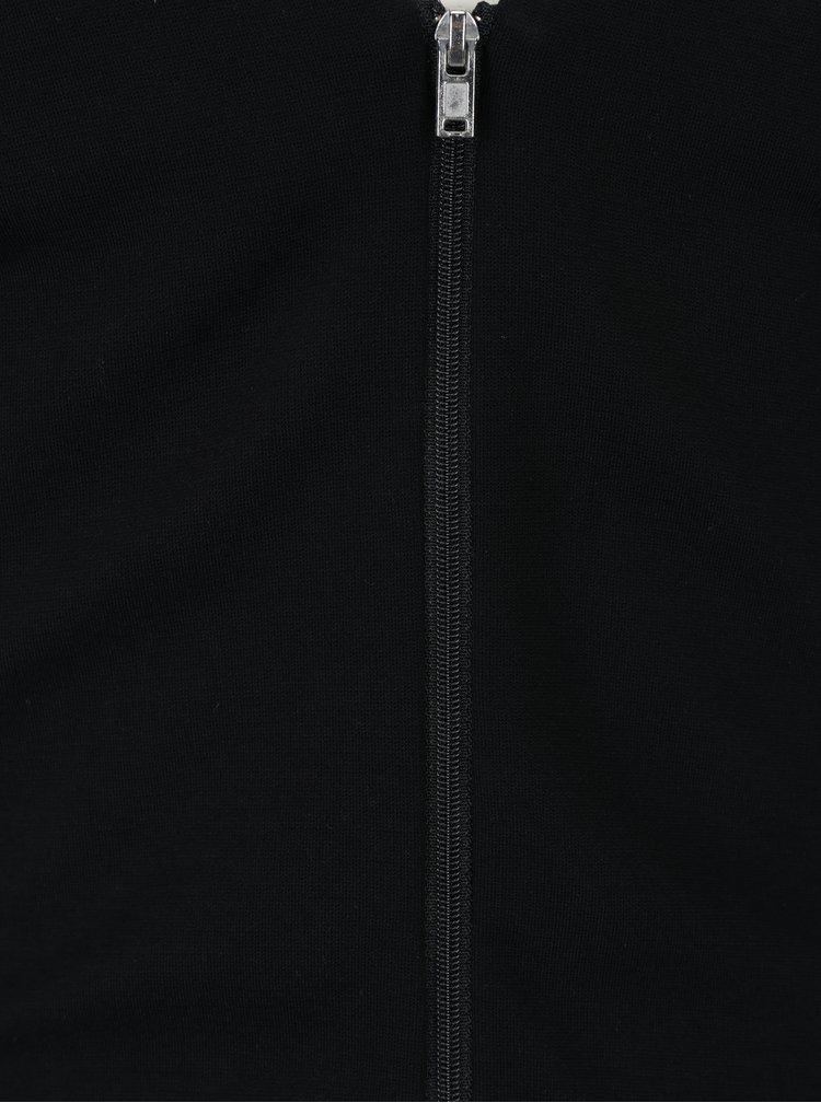 Černé šaty se zipem na zádech Broadway Mable