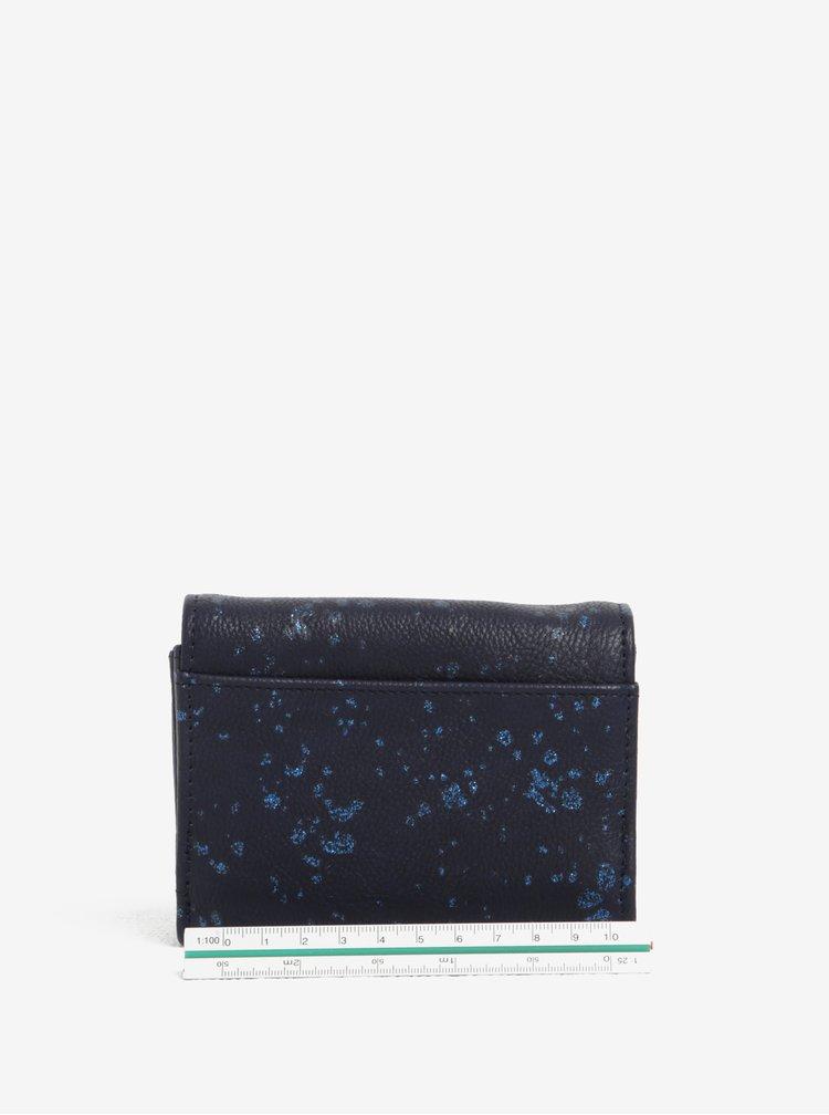 Tmavě modrá peněženka Desigual Mix Metal Splatter