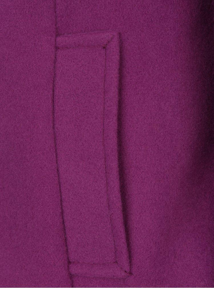 Fialový kabát ZOOT