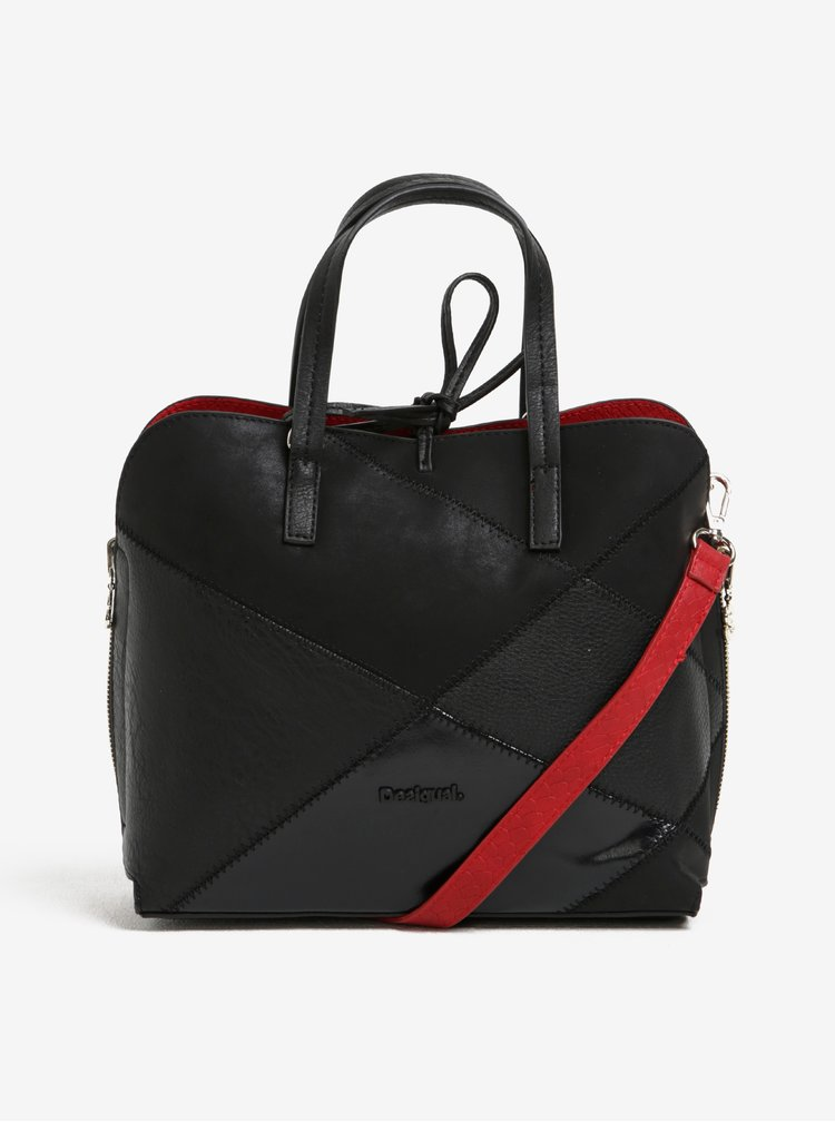 Červeno-černá oboustranná kabelka 2v1 Desigual Hamar Cougar