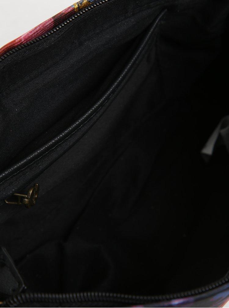Červeno-černá crossbody kabelka Desigual Vegas Transflores