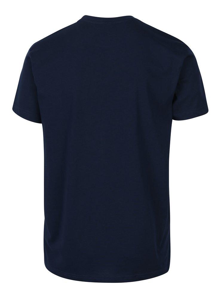 Tricou bleumarin pentru barbati  Horsefeathers Wireframe