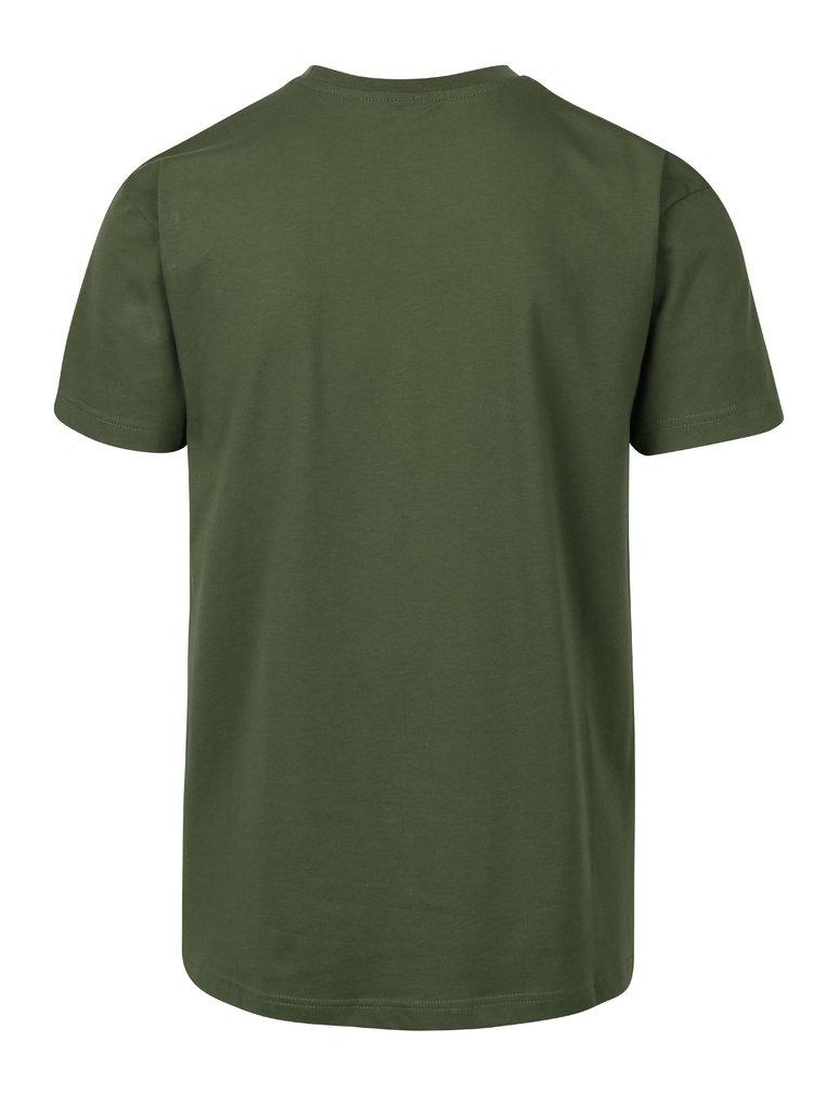 Tricou verde pentru barbati  Horsefeathers Bout