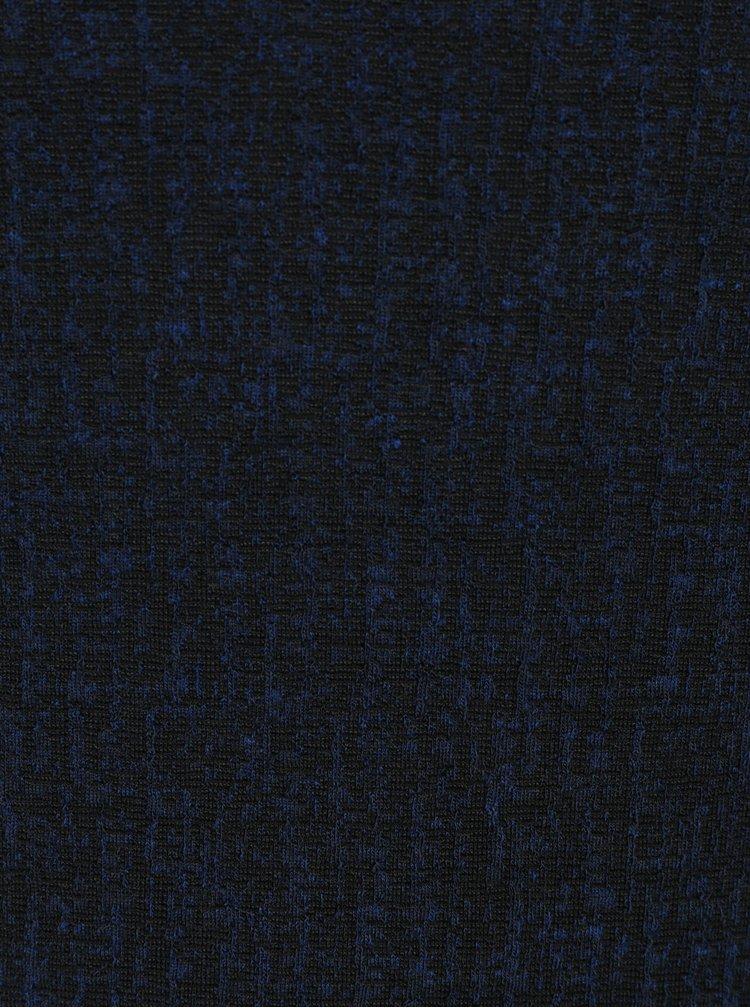 Tmavě modré šaty s 3/4 rukávem Smashed Lemon