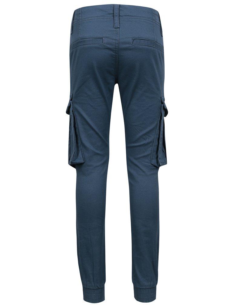 Modré klučičí kalhoty s kapsami name it Bamgo