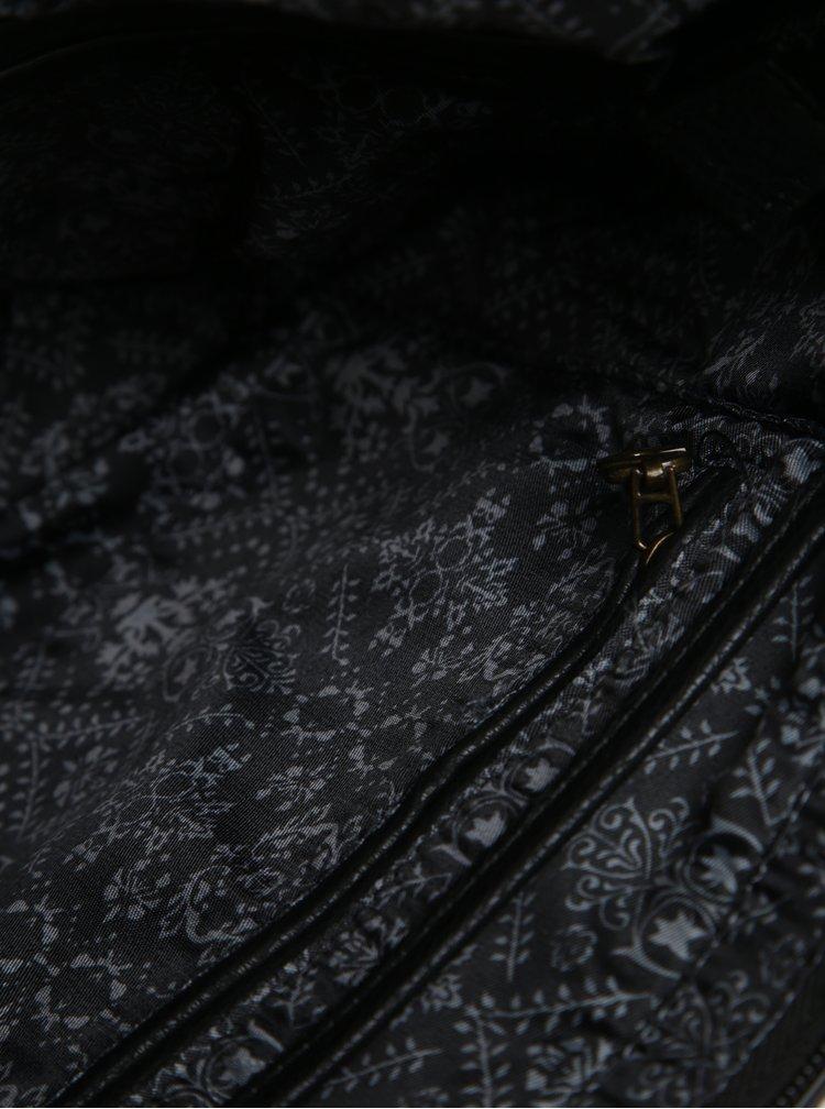 Geanta neagra de mana Desigual Mcbee Mini Blackout