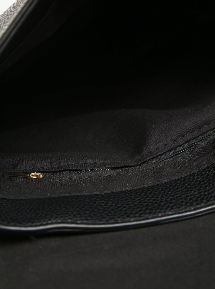 Černá crossbody kabelka s nášivkou Haily´s Larissa