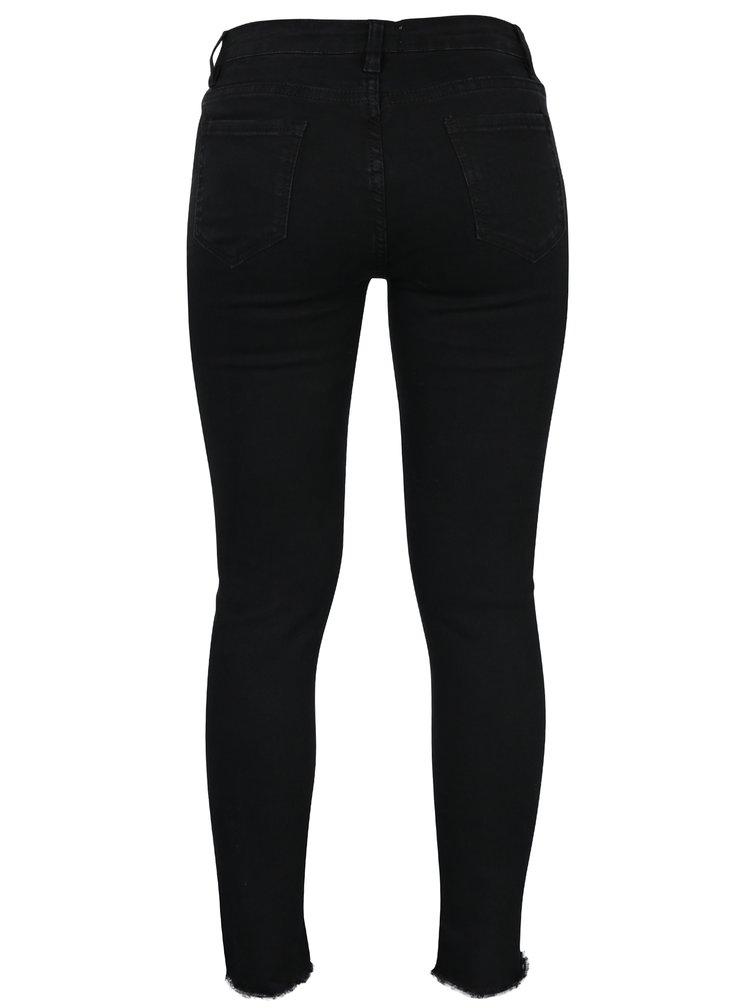 Černé zkrácené džíny Haily´s Ally
