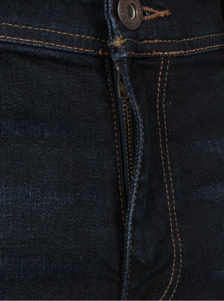 Tmavě modré pánské relaxed fit džíny Cross Jeans