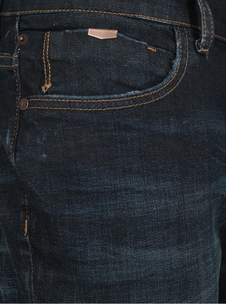 Blugi slim fit albastru inchis Cross Jeans