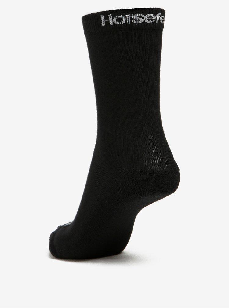 Sada tří párů černých pánských ponožek Horsefeathers Delete