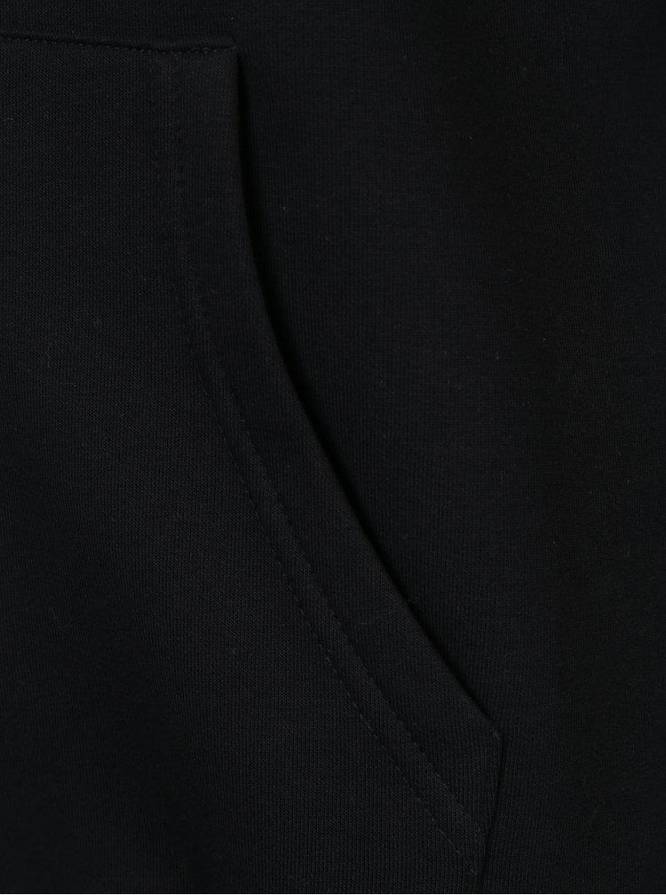 Hanorac negru & alb Horsefeathers Mini Logo