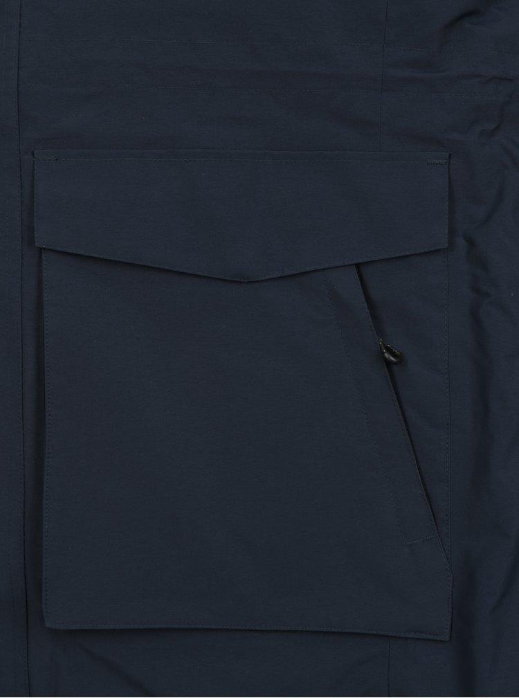 Geaca parka albastru inchis impermeabila Jack & Jones Meyland