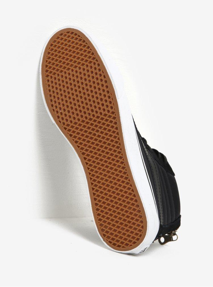 Černé dámské kotníkové tenisky VANS SK8-Hi