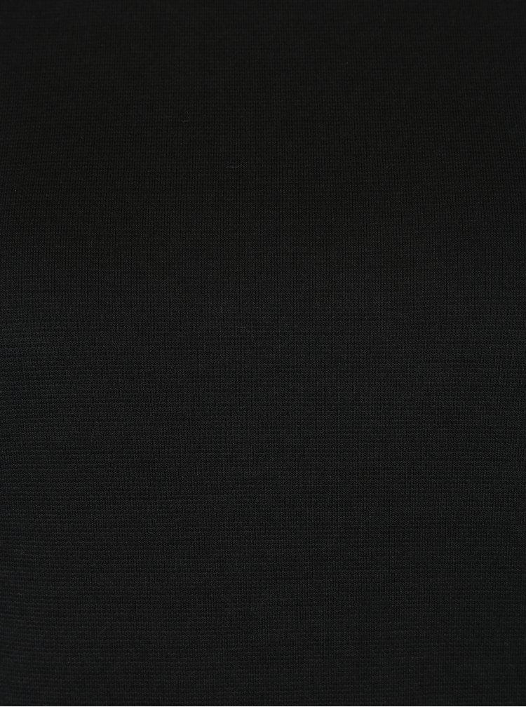 Rochie neagra cu maneci 3/4 Haily´s Courty