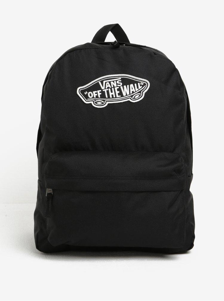 Rucsac negru cu aplicatie tip logo - VANS Realm 22 l