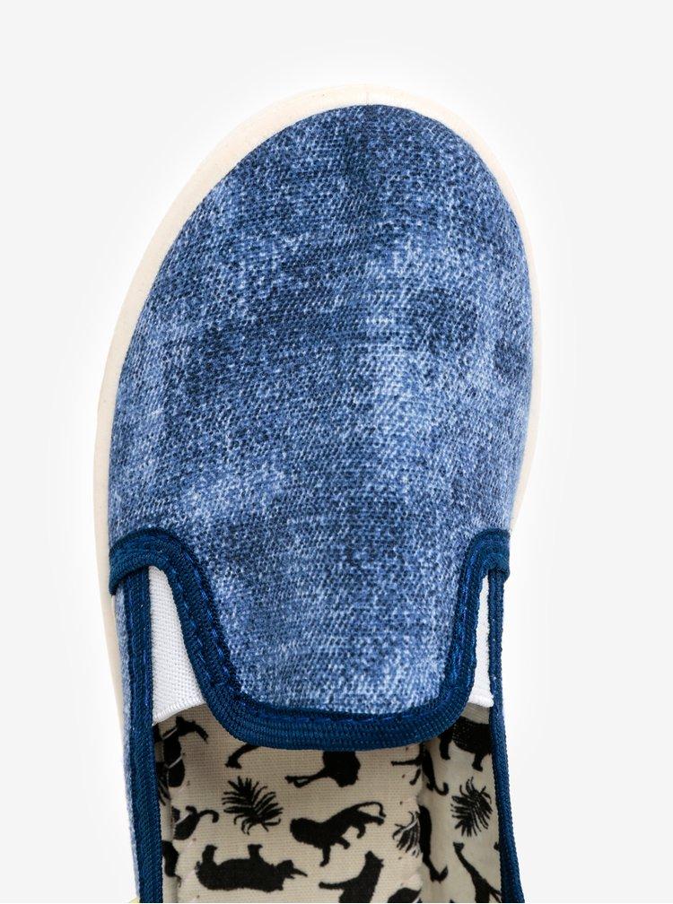 Modré žíhané slip on Oldcom Cooper