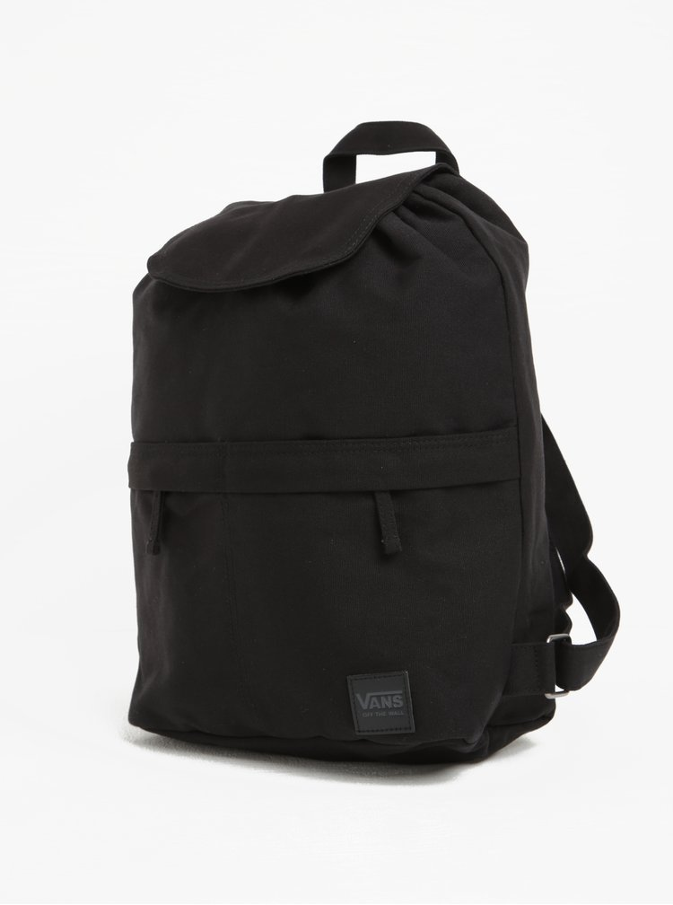 Rucsac negru unisex pentru laptop de 13 inch - VANS Lakeside 15l