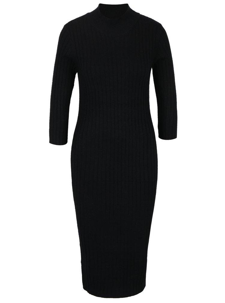 Rochie - pulover neagră VERO MODA Ava