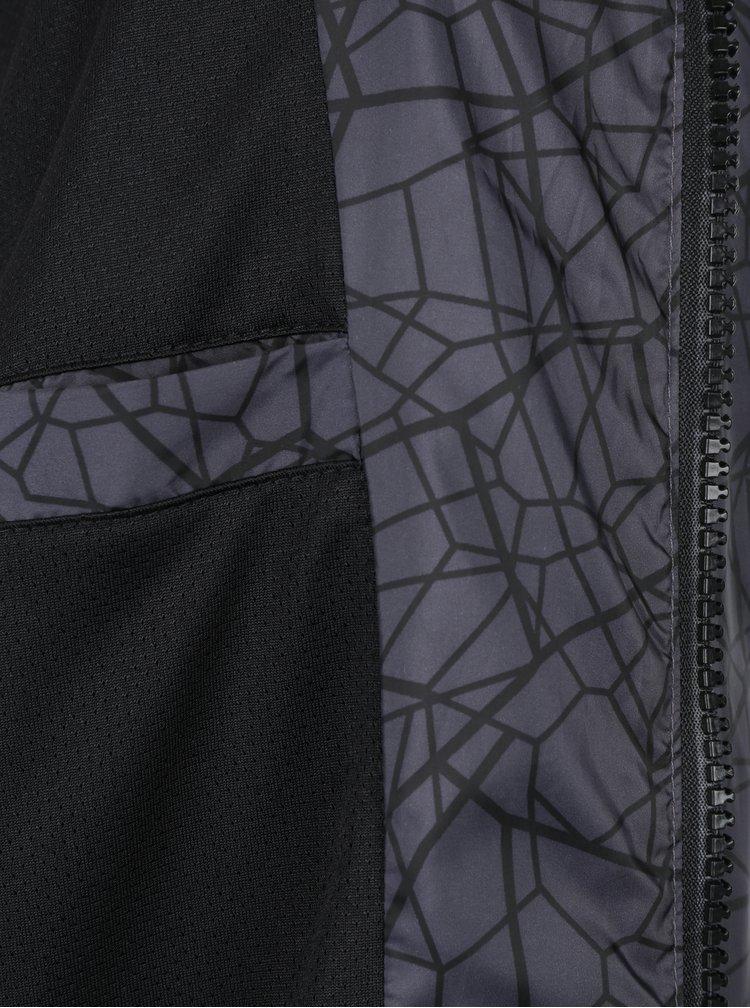 Šedá vzorovaná šusťáková bunda Blend