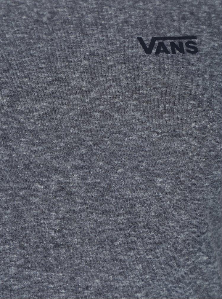 Bluză gri cu mâneci 3/4 raglan pentru femei  -  VANS Fall Tropics