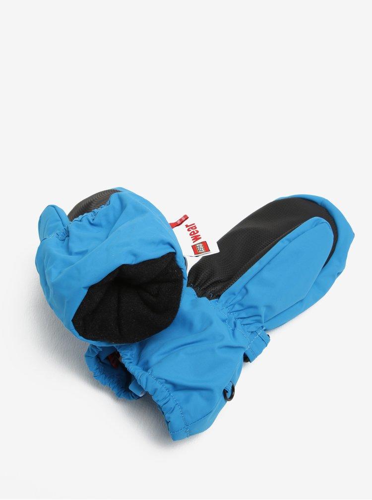 Modré dětské funkční palčáky s reflexním prvkem Lego Wear Alexa