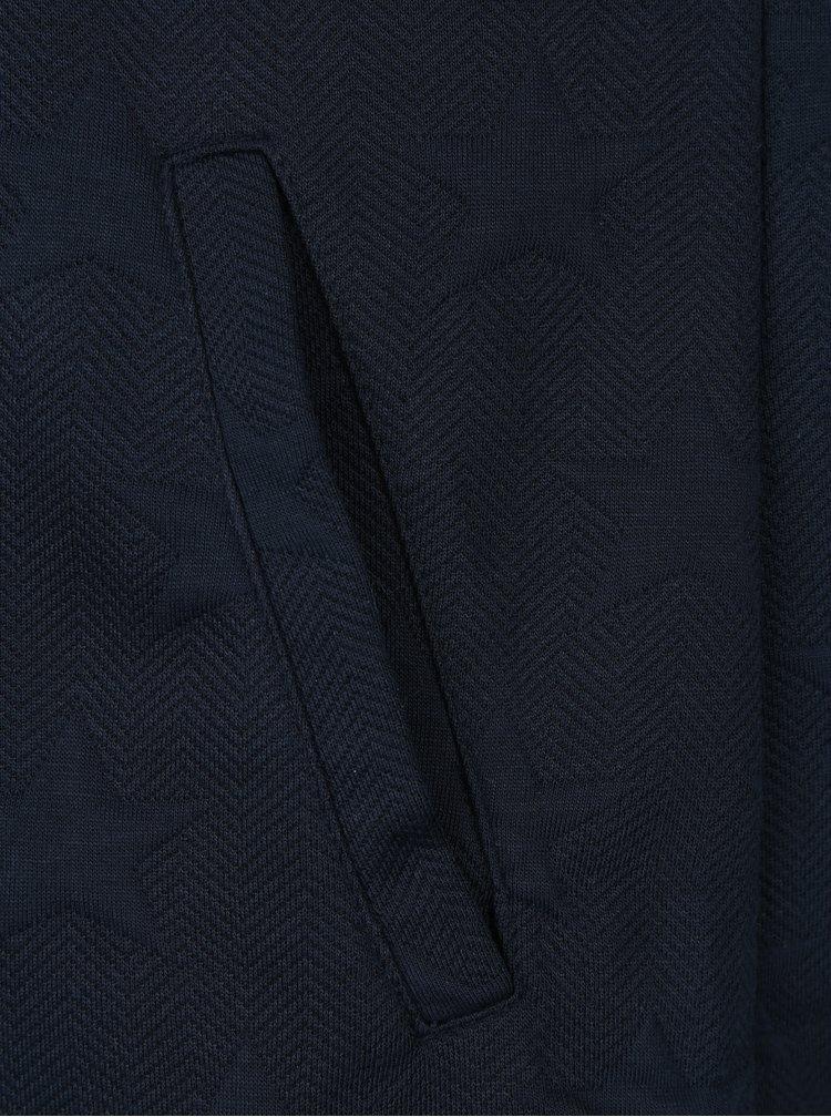 Tmavě modré mikinové šaty ONLY Serena