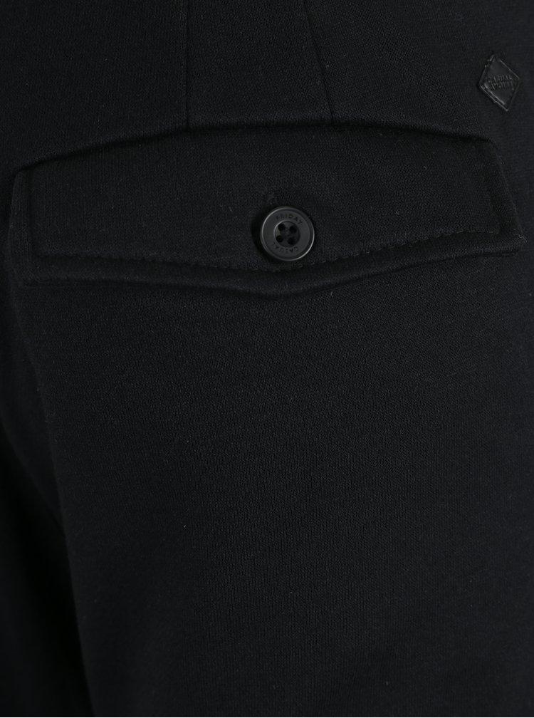 Černé zkrácené kalhoty s kapsami Casual Friday by Blend