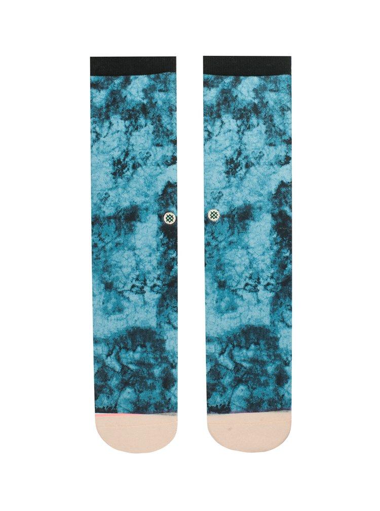 Sosete albastre cu print abstract pentru femei - Stance Collapsar