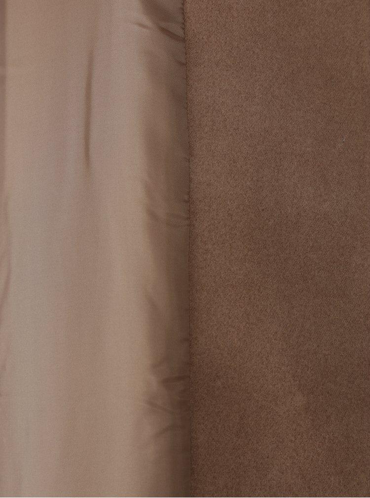 Palton bej cu guler sal  ONLY Phoebe