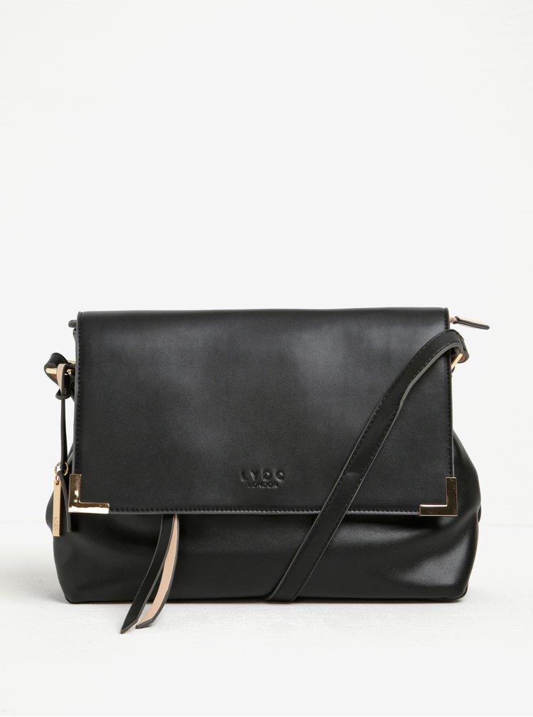 Černá kabelka na rameno LYDC