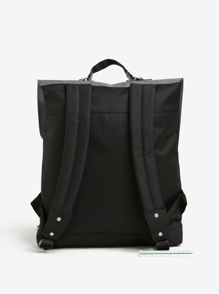 Šedo-černý batoh Enter Backpack 12 l