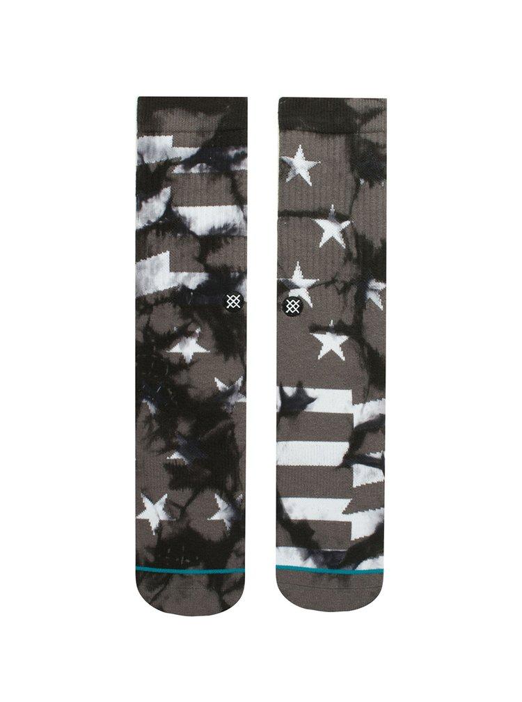 Tmavě šedé pánské vzorované ponožky Stance Victory