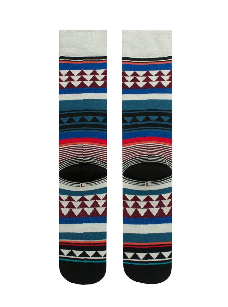 Sosete multicolore barbatesti cu print geometric - Stance Creek
