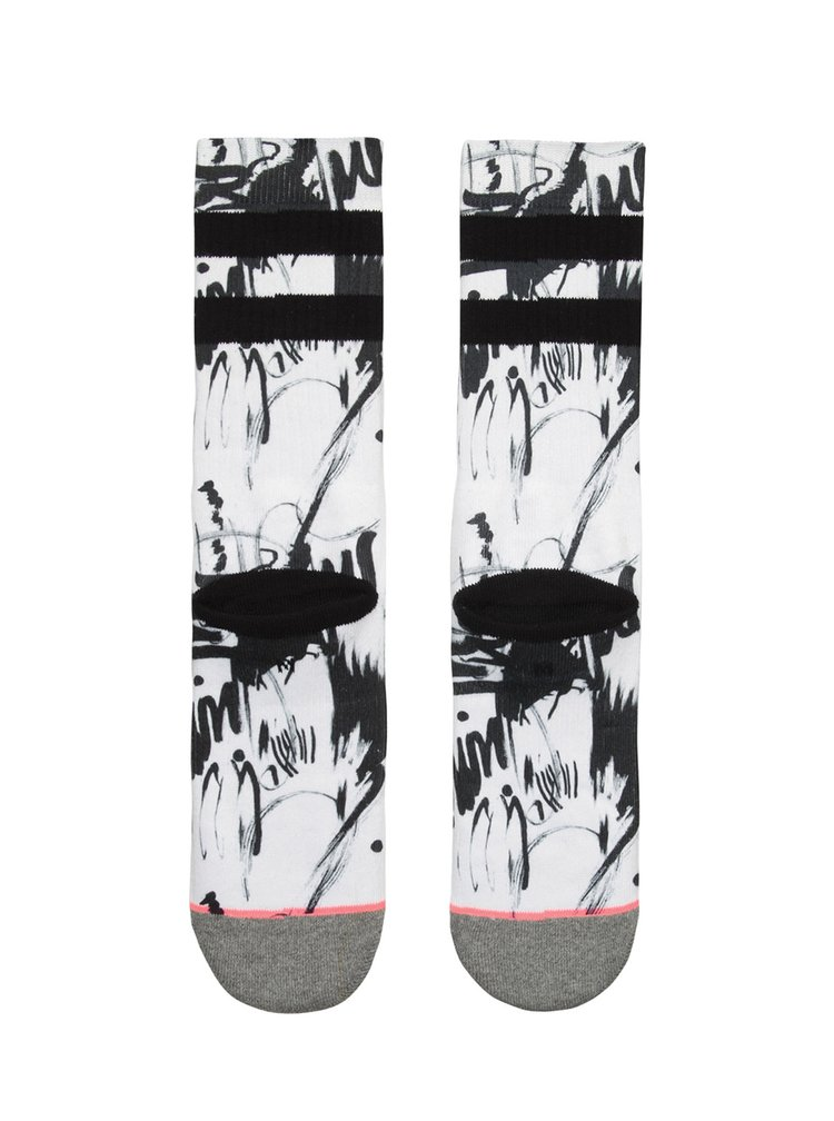 Černo-krémové dámské ponožky Stance Velocity