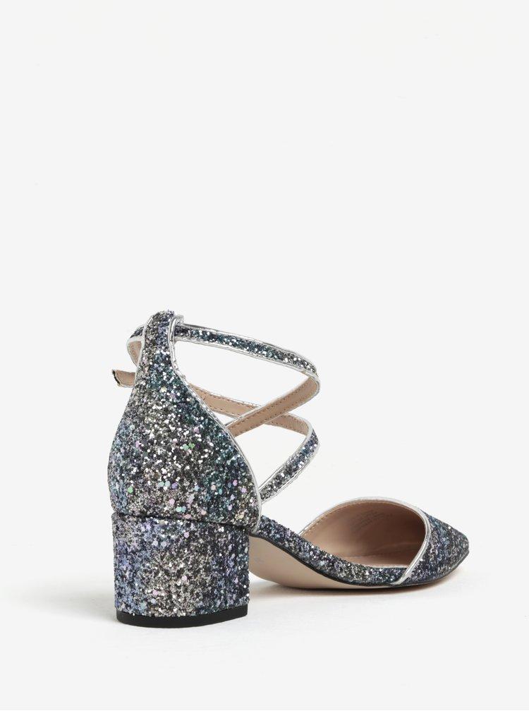 Sandale argintii cu reflexii -  Miss KG Ava