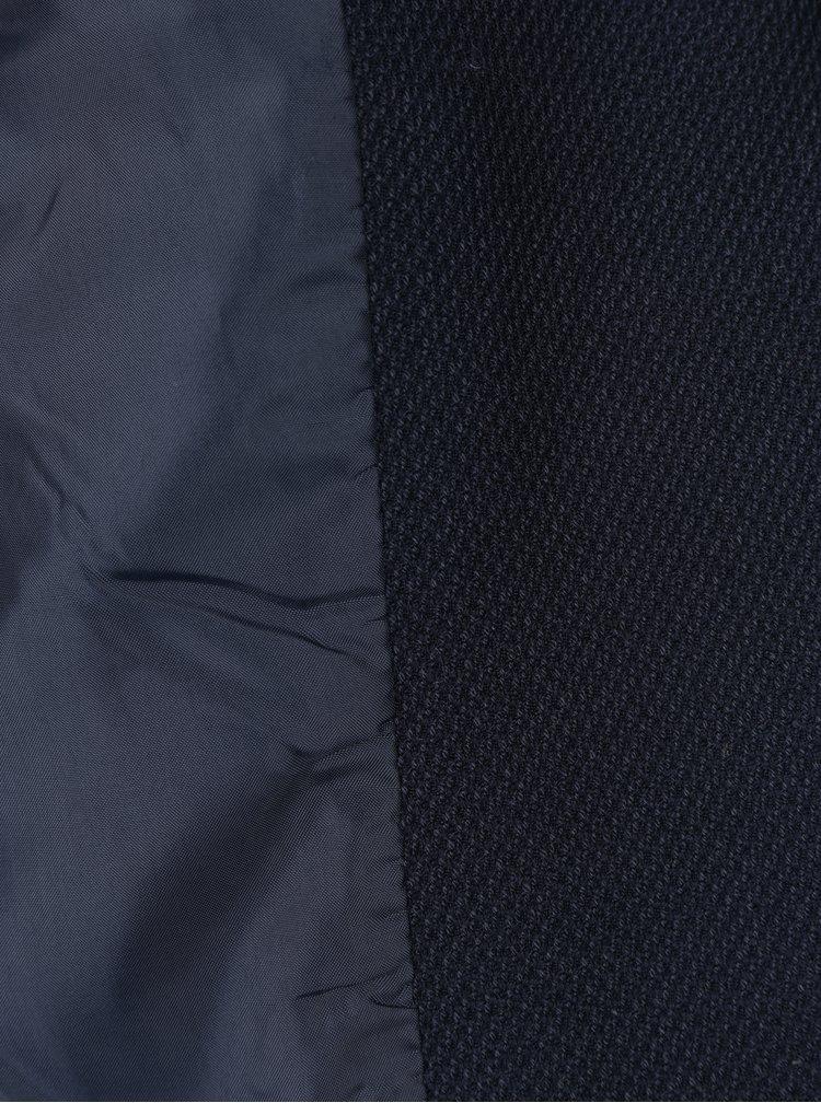Tmavě modré sako s nášivkou VERO MODA Maja