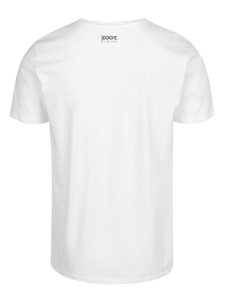 Biele pánske tričko ZOOT Original Kazeta