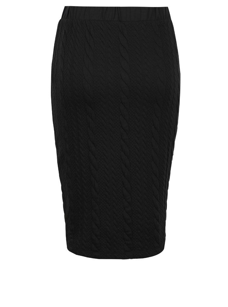 Černá pouzdrová sukně Jacqueline de Yong Zadie
