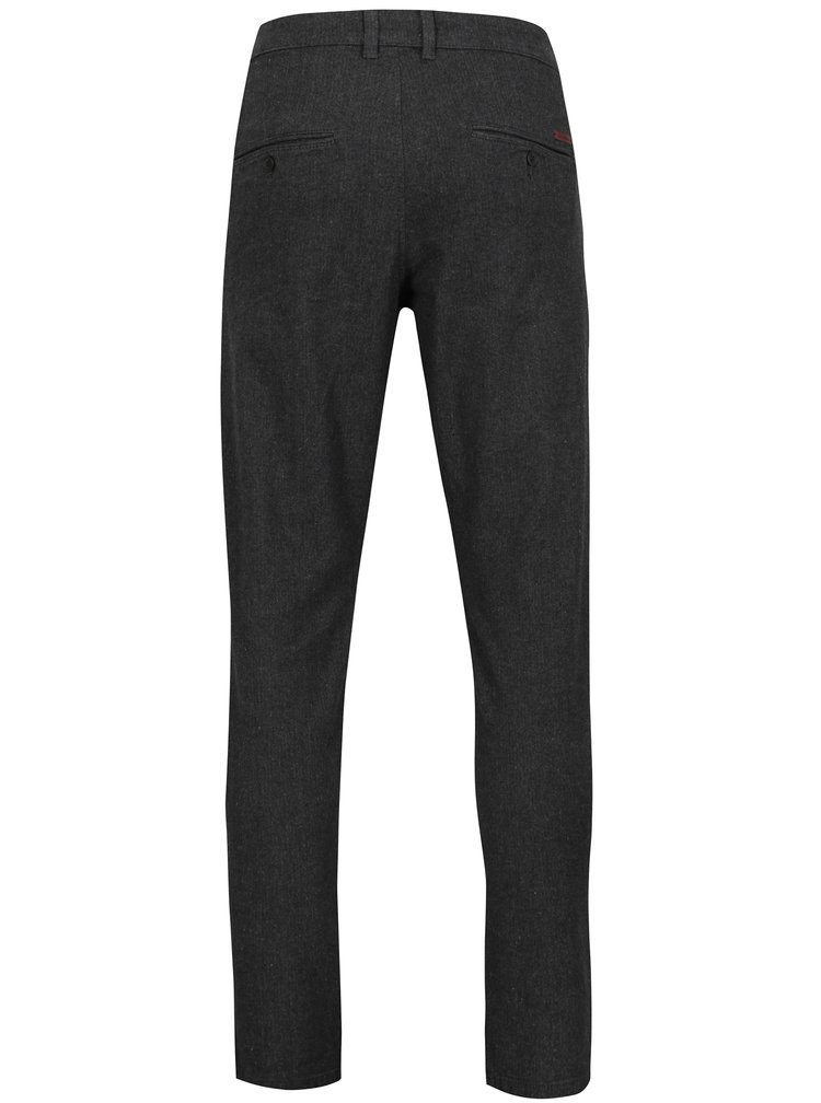 Pantaloni gri chino slim fit Jack & Jones Marco