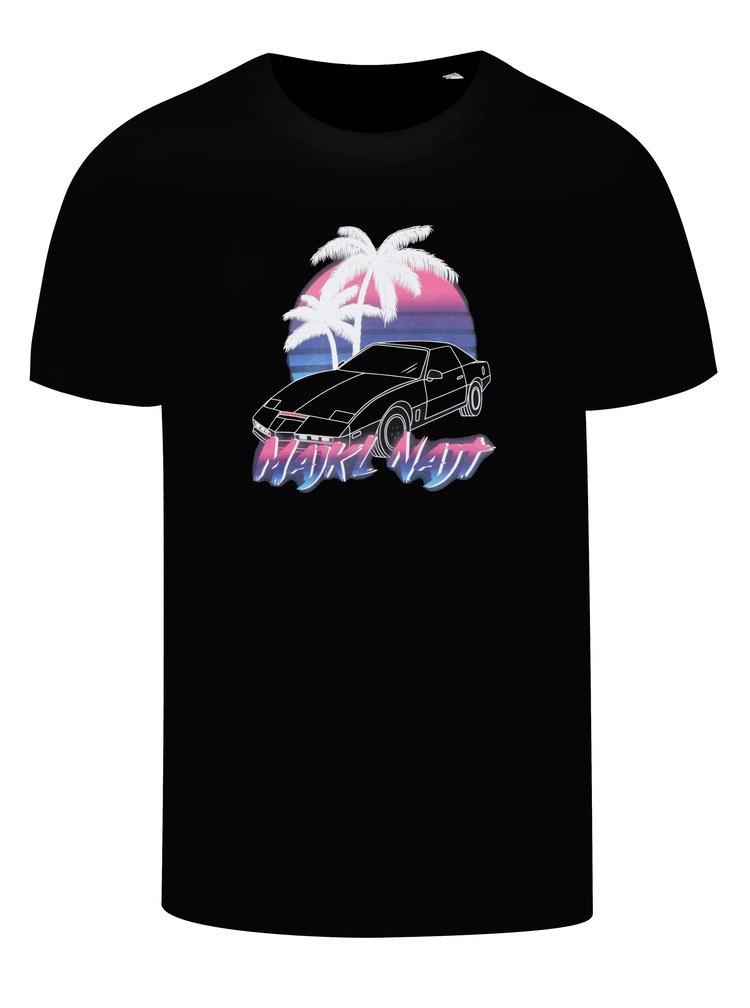 Černé pánské tričko s potiskem ZOOT Original Majkl Najt
