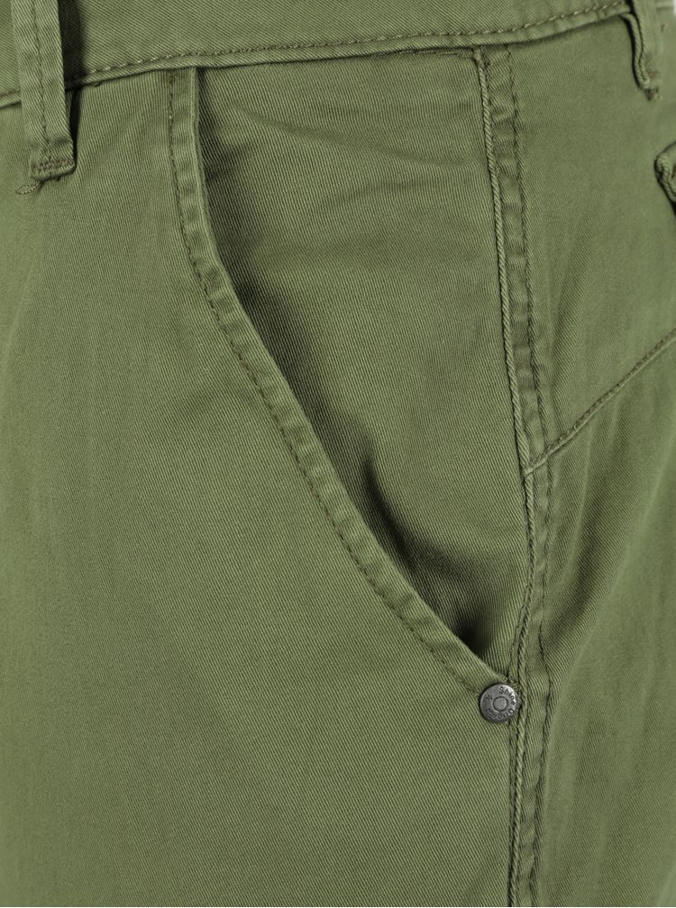 Zelené kalhoty s kapsami Shine Original