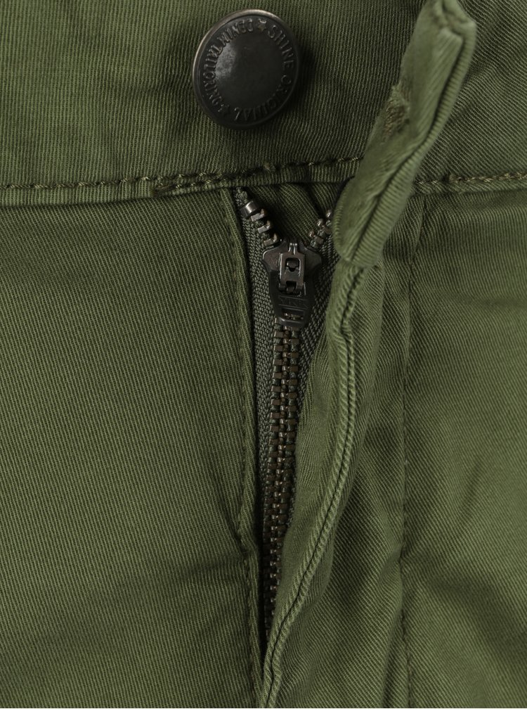 Zelené nohavice s vreckami Shine Original