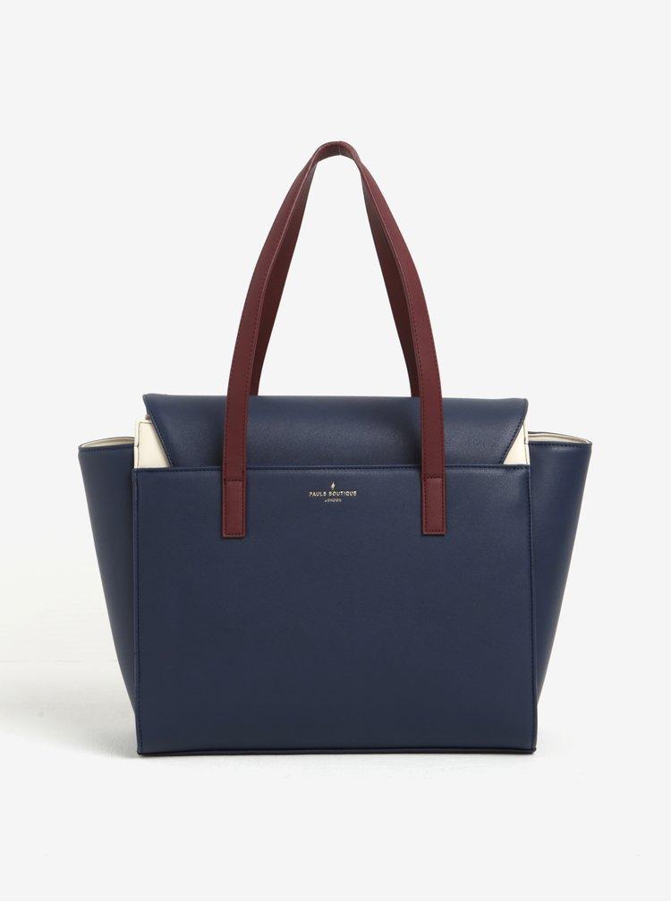 Tmavě modrá velká kabelka Paul's Boutique Angelina